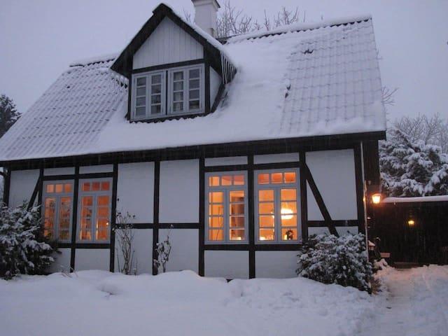 Idyllic 105y old house + garden, near cph centre