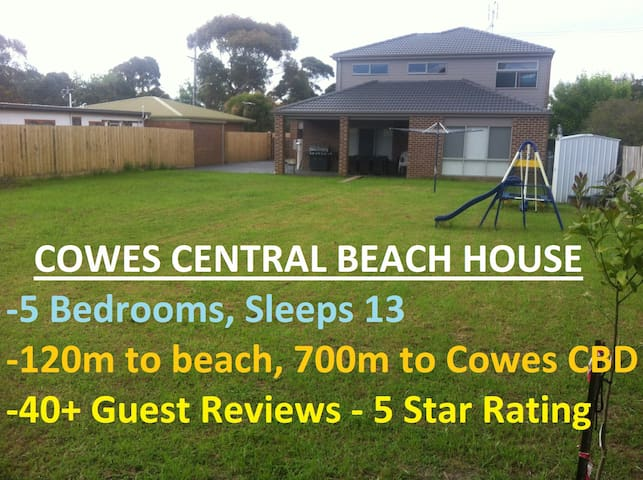 Cowes Central Beach House