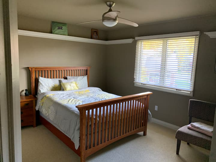 Beautiful Room, Second Floor, Attached Full Bath