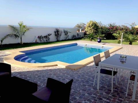 Villa with pool Saadia, cape of water, ras el ma