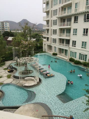Summer, Hua hin Pool view,3rd floor - Hua Hin - Apartament