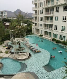 Summer, Hua hin Pool view,3rd floor - Daire