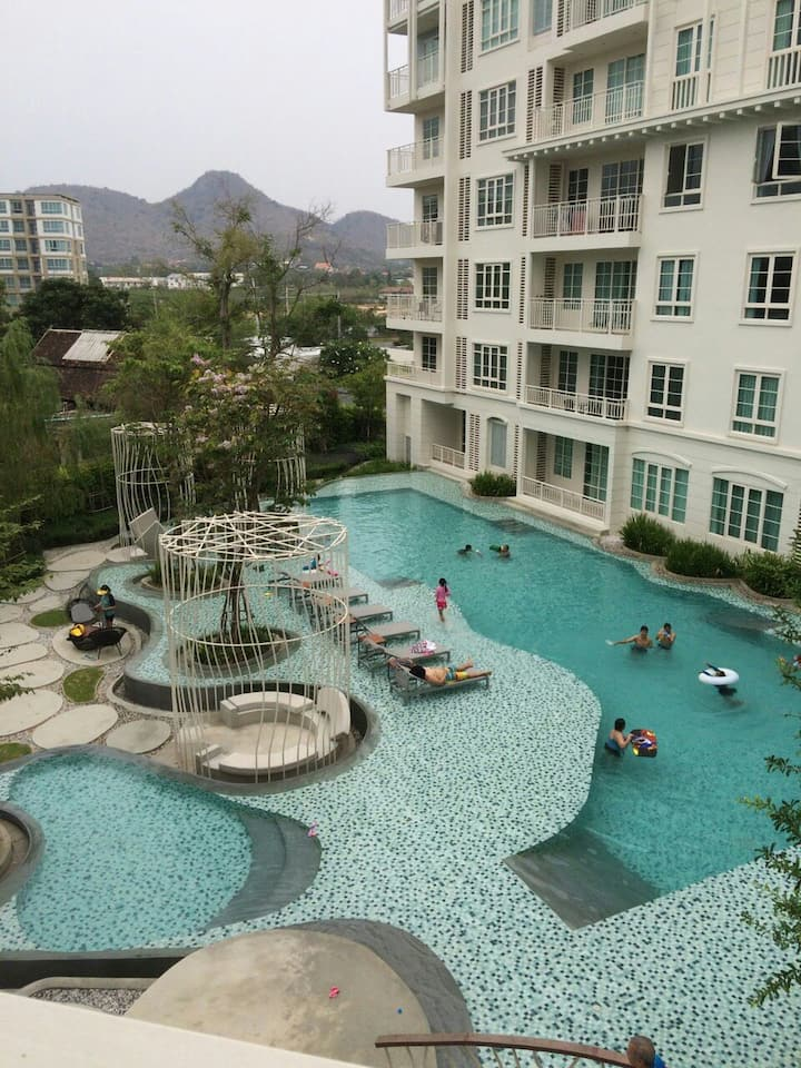 Summer, Hua hin Pool view,3rd floor