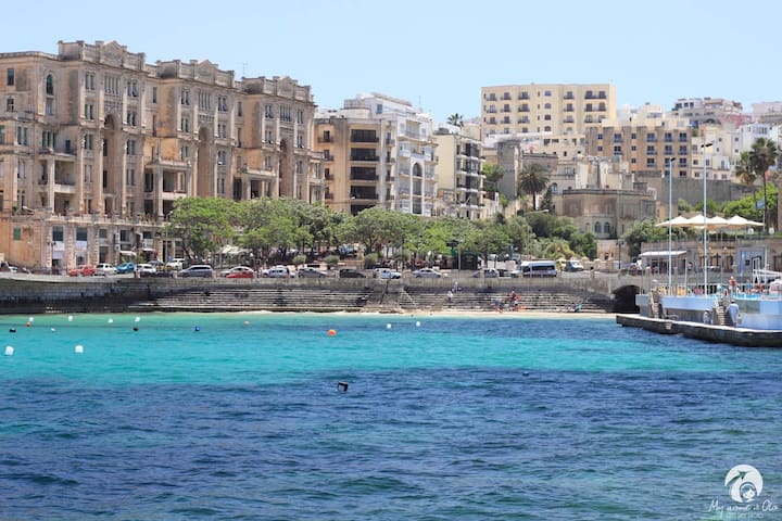 Right next to Beach and Park! SLIEMA HEART - Sliema