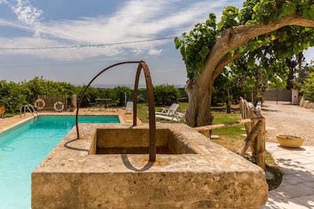 AUTHENTIC SICILIAN CHARM pool & wi-fi - Avola - House