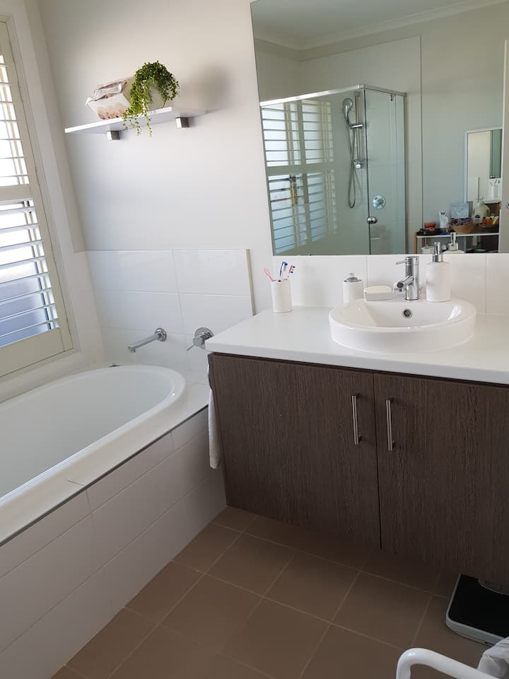 Spotless,comfortable room with private bathroom .