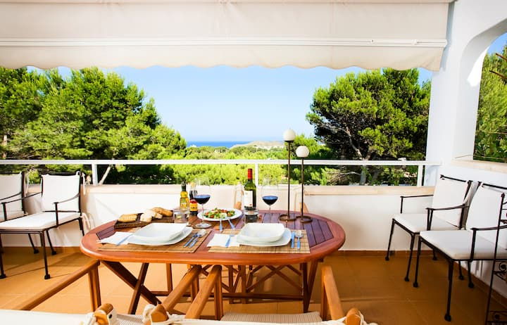 BLAU APARTMENT - Exclusive and charming, AC, WIFI sea views