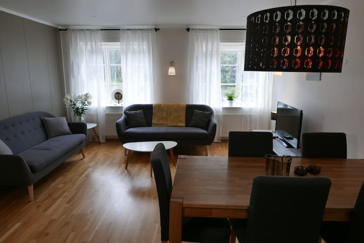 Quiet apartment, Husavik, 1st floor