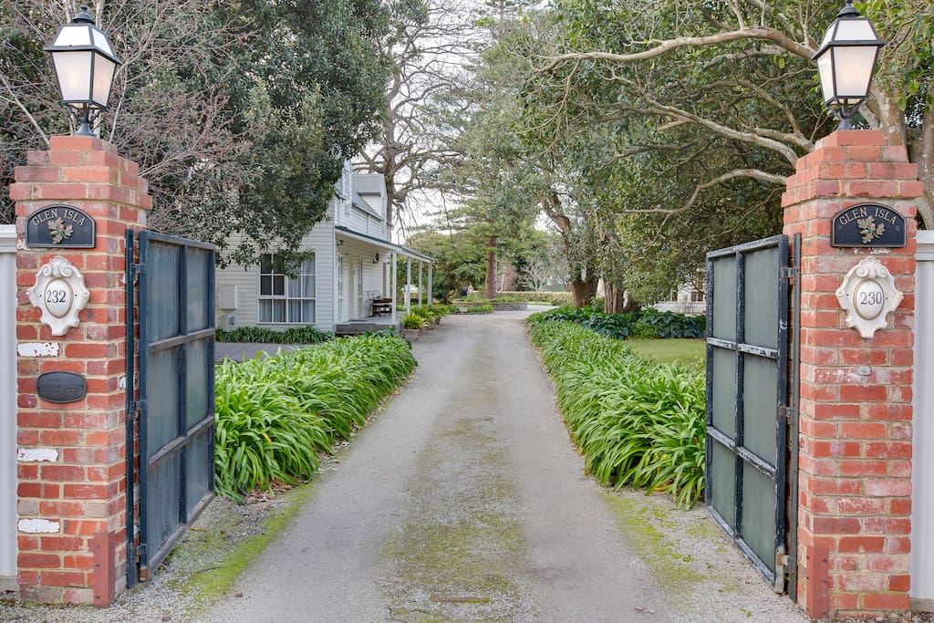 Set in 2 acres of authentic heritage gardens