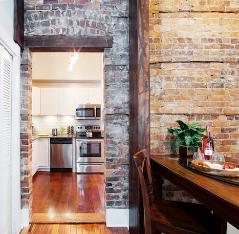 Newly Renovated 1920's Historic District Townhome