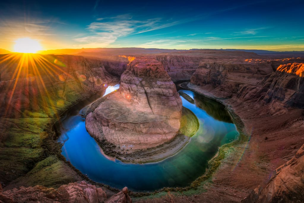 Horseshoe Bend, 10 minutes from the house