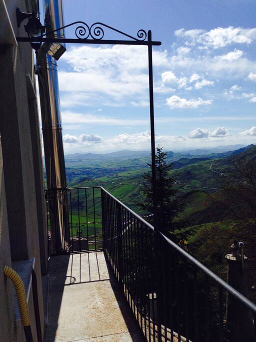 Landscape from balcony
