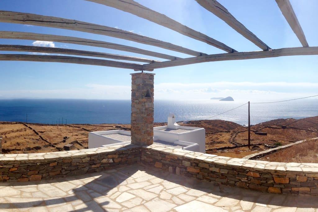Endless Aegean view