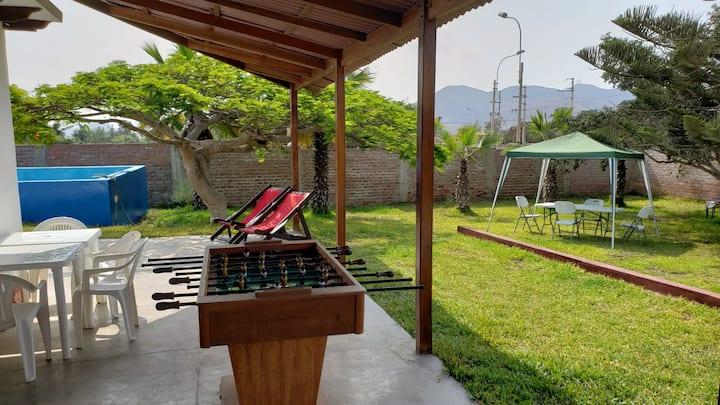 Casa Ale (Campo y piscina)