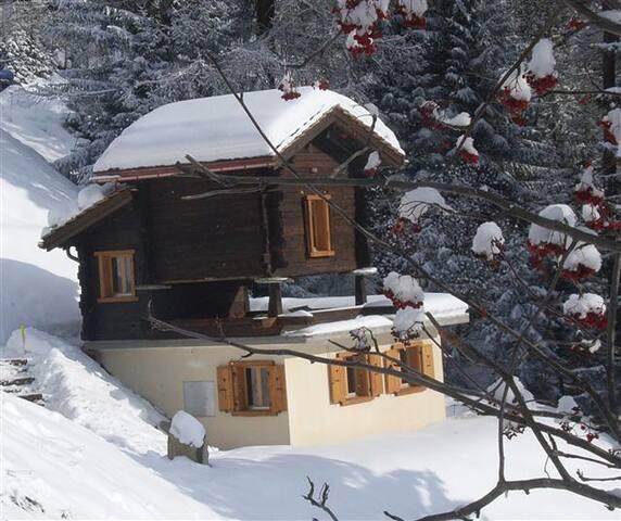 Chalet Cuckoo, Val d'Anniviers, Valais Switzerland - Ayer - Chalet