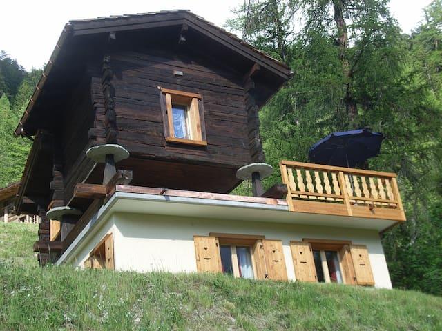 Chalet Cuckoo, Val d'Anniviers, Valais Switzerland