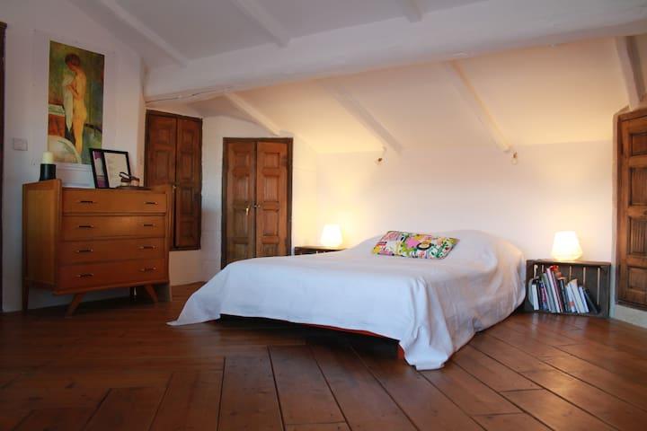"""Chambre """"Sous les étoiles"""" terrasse - Saint-André-de-Sangonis - Bed & Breakfast"""