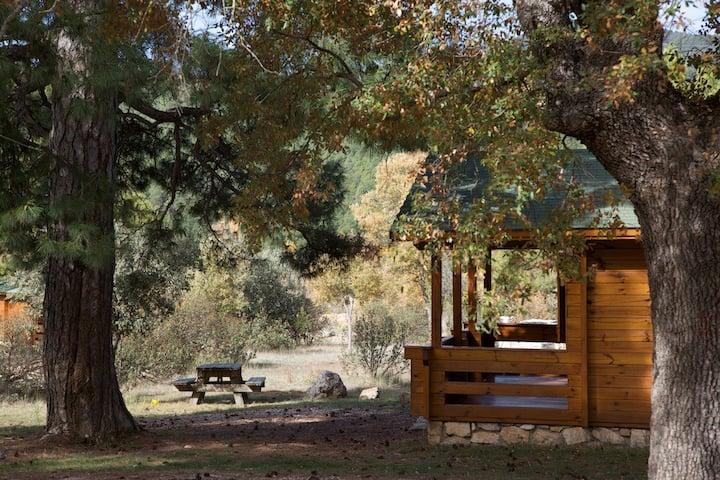 Cabañas Llano los Conejos. Cabaña Fuente Noguera