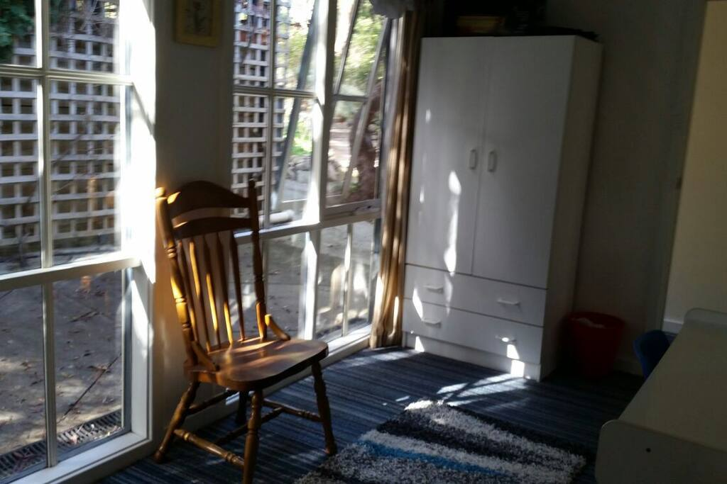 Nice windows in Room #1