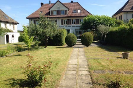 Room (1-4) / Villa close to Zurich. - Lenzburg - 别墅