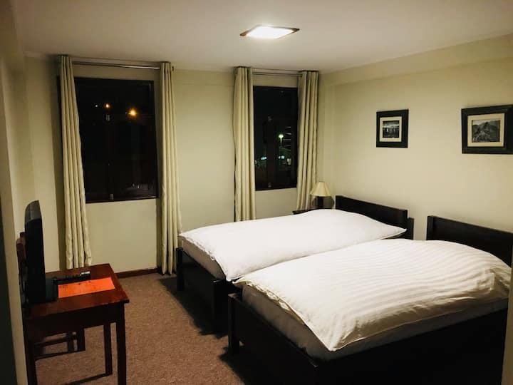 Habitacion doble - 2 camas (sin vista)