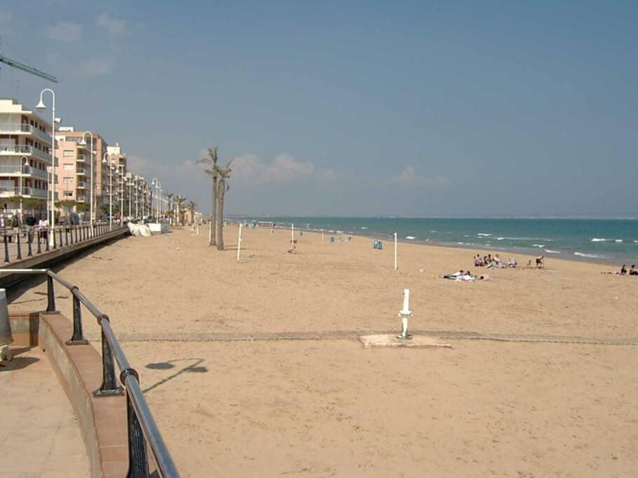 Playa está a 150m del piso