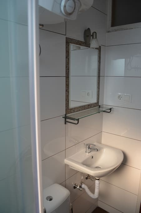 Newly renovated shared bathroom