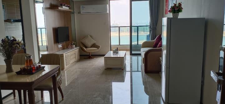 海花岛浪漫海景两室套房(Loft)