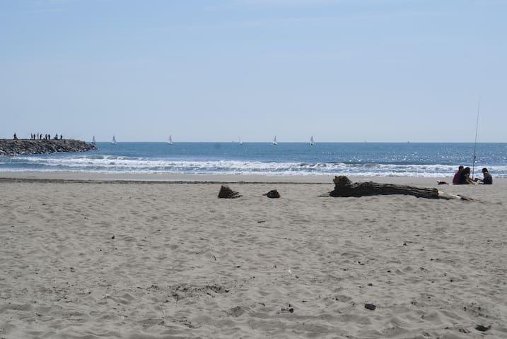 La plage à 3 minutes à pied ! - Mauguio - Appartement