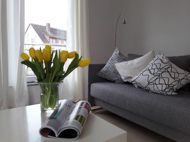 Bright and spacious apartment close to Francfurt