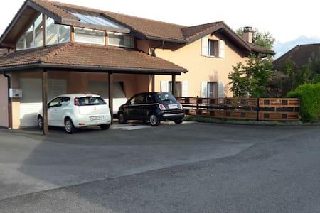 2 chambres privées à Vionnaz près de Torgon - Vionnaz - Dom