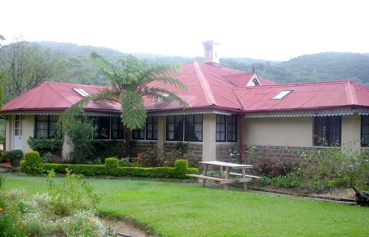 Colonial  Plantation Bungalow - Nuwara Eliya
