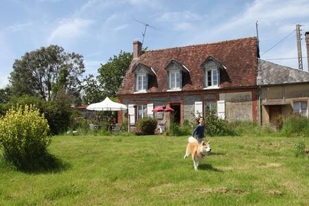 Normandy: home and garden nature - Croisilles - Hus