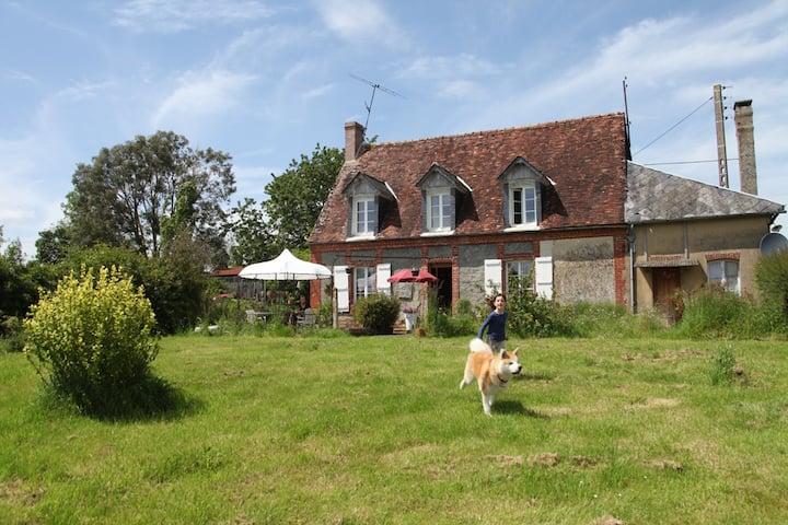 Normandy: home and garden nature