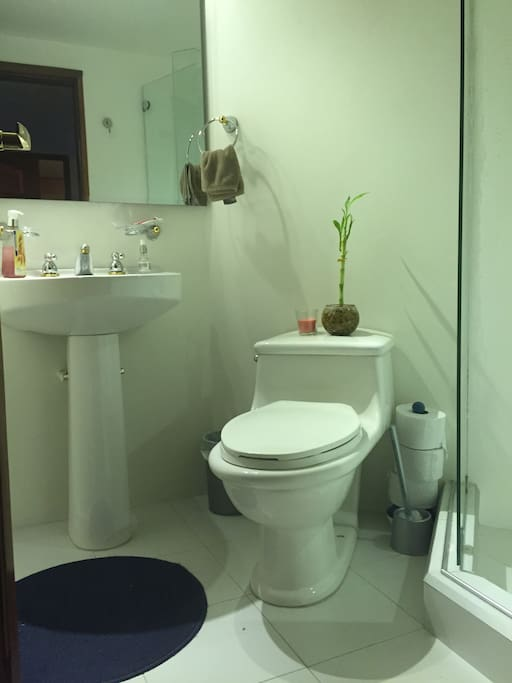 Your very own private bathroom!