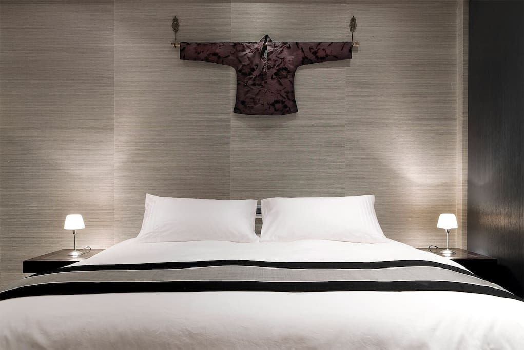 Our Cocoon bed, so heavenly, it's almost impossible to leave its embrace.
