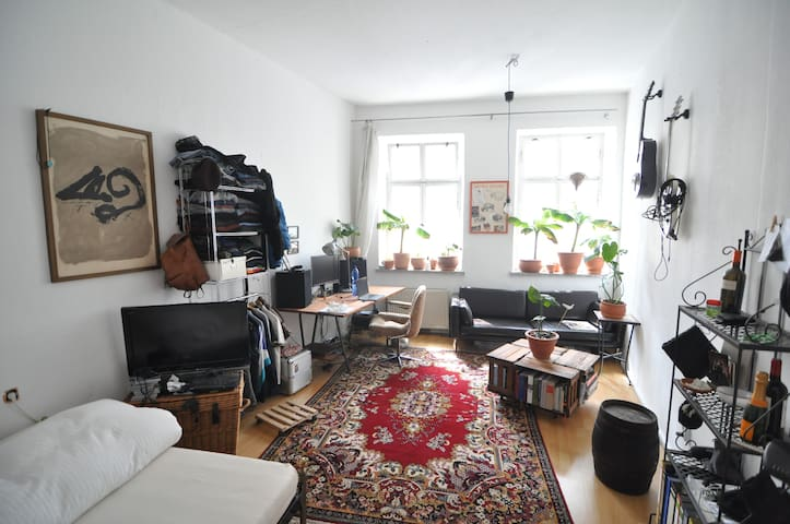 Bright, spacious room in perfect location (F-Hain)