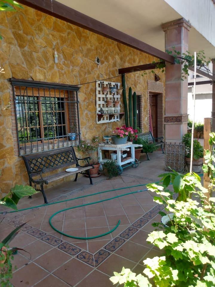 Casa de relax en un entorno maravillóso
