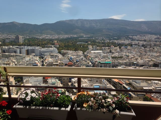 Luxury and a breathtaking view! - Athina - Appartement