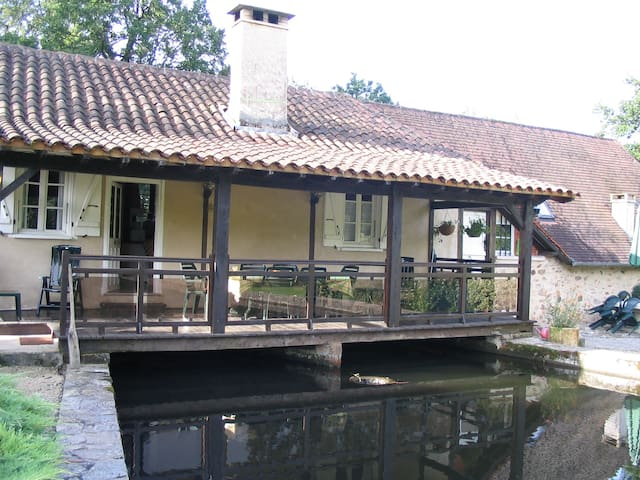 Converted Millers apartment at Moulin d'Arnac - Nonards - Apartment