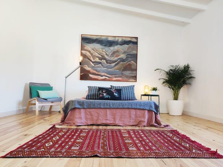 Preciosa Suite privada rodeada de naturaleza