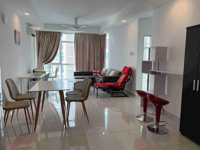Relax & Destress @ Central Residence Sg Besi wWifi