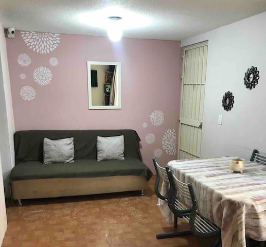 Habitación en Departameto Av Taxqueña