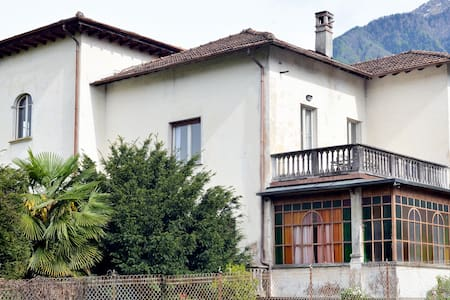 Renovated 100 years old villa - Colico Piano