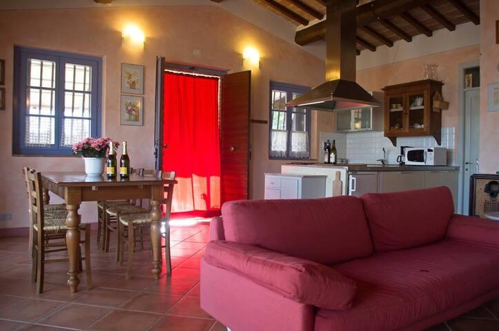 VILLETTA CON PISCINA IN TOSCANA - Montagnano - Casa
