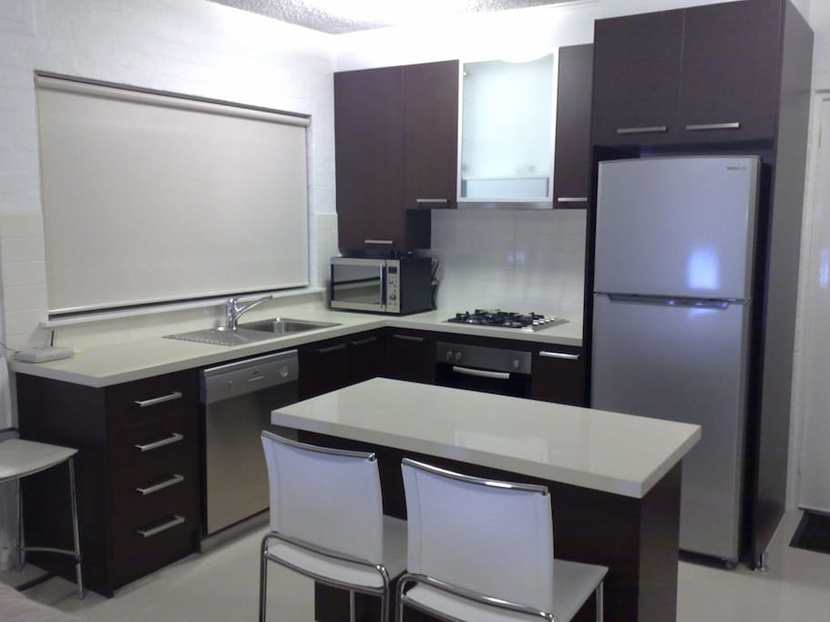 large self contained kitchen