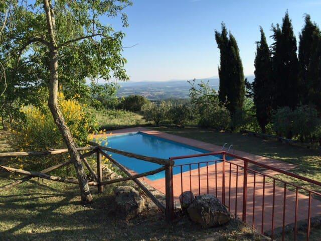 PORZIONE DI CASA PADRONALE RISTRUTT - Radda in Chianti - Leilighet