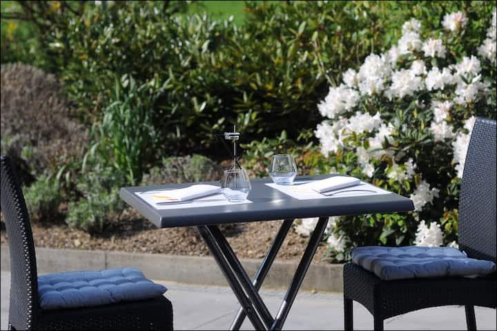 Superbe maison, confort, terrasse et jardin