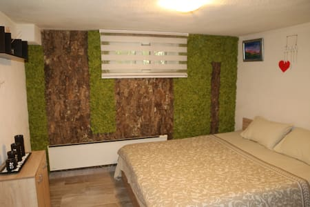Ema Artistic House, Private room, large double bed
