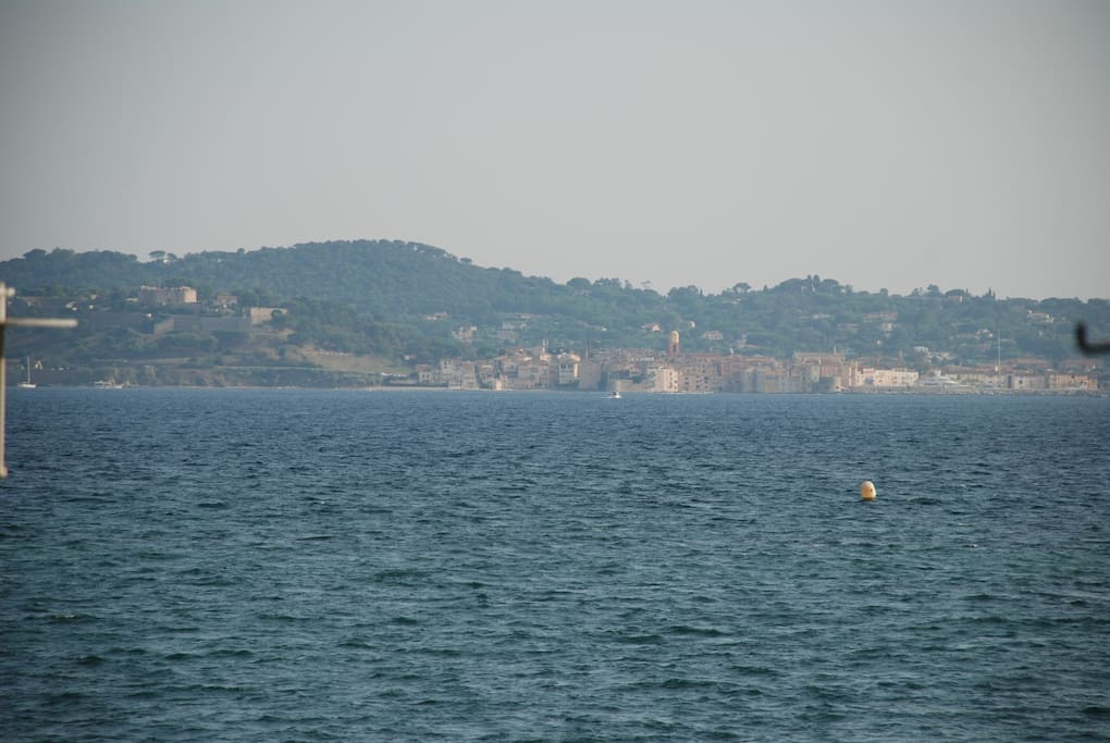 View to St Tropez